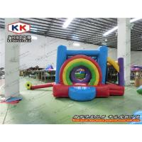 Quality Continually Blowing Inflatable Bouncer , Cute Design Inflatable Jumping Bed for sale