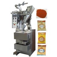 Quality 10 - 200g 3 or 4 Side Pillow Bag Sealing Sachet Packing Machine For Hot Peper / Chilli Powder for sale