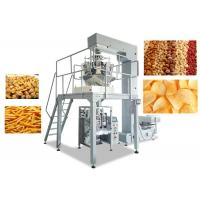 Quality Snacks Food Packaging Sealing Machine , Vertical Form Fill Seal Packaging Machines for sale