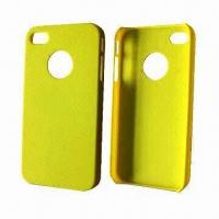 Quality Yellow PC Case for iPhone, OEM and ODM Orders are Welcome for sale