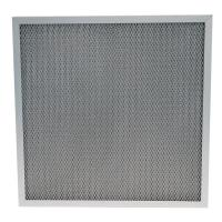 Buy cheap Washable Furnace Corrugated Aluminum 250℃ Pre Air Filter from wholesalers