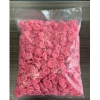 Buy Pink Cleanroom Finger Cots For Preventing Tip Discharge at wholesale prices