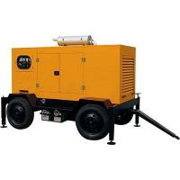 Quality Mobile Electric Generator Yuchai Electronic Injection Fuel System Powered 80KW for sale