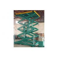 Quality 1000kg stationary electric scissor lift table, aerial work platform for production line for sale