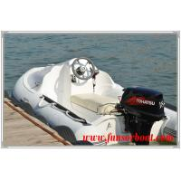 Quality Hard Bottom JET SKI RIB Rigid Inflatable Boats Three Person Inflatable Boat for sale