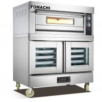 Quality Electric Deck Oven with Electric Proofer Cabinet 1 Deck with Proofer FMX-O102DF for sale