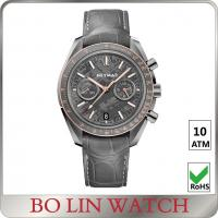 Buy cheap 10ATM water resistant Stainless Steel Sports Watch , luxury chronograph watches from wholesalers