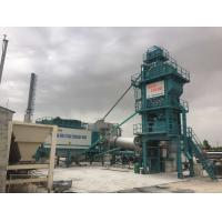 Quality Variable Frequency Feeding Belt Mobile Asphalt Batch Mixing Plant 120 Ton Output Mobile for sale