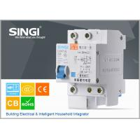 Quality DZ47LE-63 6amp Residual current circuit breaker with overcurrent protection for sale