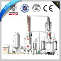 Continuous PLC control system Waste Engine Oil Recycling and Distillation Plant for sale