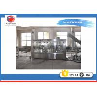 Buy Plastic Bottle 3 In 1 Carbonated Drinks Filling Machine High Stability 220V / 380V 4.3kw at wholesale prices