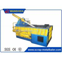 Quality Copper Wires Scrap Metal Baler Baling Equipment 250 × 250mm Bale Size for sale