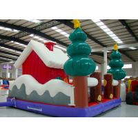 Buy cheap Merry Christmas New Inflatable Santa Claus Bouncer House For Kids Playground from wholesalers