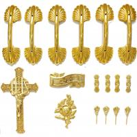 Quality Coffin Accessories Ornamental Coffins Screws And Jesus , Bracket Set HS9003 for sale