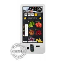 China Touch Screen POS machine Self-service Interactive Display Restaurant Smart Wall mount LCD Display on sale