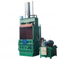 Quality Vertical  Plastic Bottle Baler Equipment , Hydraulic Bale Press Machine Y82-25 for sale