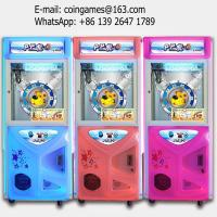 Amusement Arcade Coin Operated Toy Crane Claw Game Machine For Sale