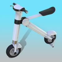 Quality 12 Inch Disc Brake Foldable Electric Scooter / Bicycle For Adults 35KM/H for sale