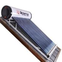 Non-Pressure Solar Water Heater With Flat Frame