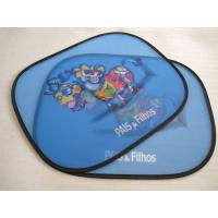 Quality Laterial Car Sunshade with heat transfer logo printing for sale