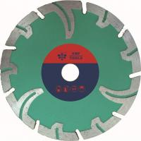 China Portable Segmented Diamond Stone Cutting Saw Blades  Protective Teeth  Marble Cutting on sale