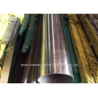 Quality BA Finish Seamless Stainless Steel Pipe 304 316 321 Sch 40 Customized Length for sale