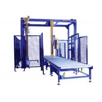 Quality Remote Control Pallet Stretch Wrapping Machine , Automatic Stretch Wrapper With Top Seet Dispenser for sale