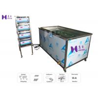 Quality 30Pcs Transducer Ultrasonic Cleaning Machine 1500W For Automotive Engine 1 Basket / 30 Min for sale