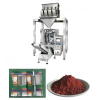 Quality Vetical Iron Oxide Powder Packaging Machine With 4 Heads And Vacuum Feeder for sale