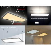 Quality 595x595 40W  Dual Shining Direct Indirect LED Panel light for sale