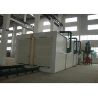 Quality Manual Operation Sandblasting Room For LPG Cylinders Surface Retexture for sale