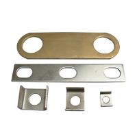 Buy cheap Industrial Electronic Steel Precision Machined Parts With Nickle Plating from wholesalers