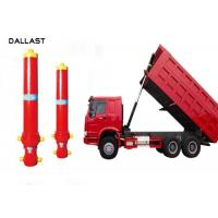 Quality Telescopic Multi Stage Hydraulic Cylinder Single Acting Dump Truck Hydraulic Oil Cylinder for sale