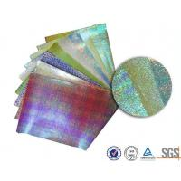 Quality Customerized Pearl rainbow wrapping paper for bouquets , Iridescent  gift wrap sheets for sale