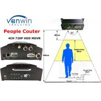 Quality Linux based 3G GPRS people counter wifi HD Mobile DVR for bus passenger counting statistics for sale