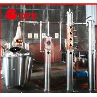 Quality Fermented Fruit / Bulk Brandy Alcohol Distiller CE PED ISO9001 for sale