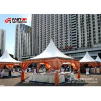 Quality High Peak Pagoda Shape Large Party Tent With Anti Rust Surface Frame for sale