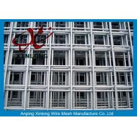 Quality 4x4 Stainless Steel Welded Wire Mesh Panels For Concrete Foundations for sale