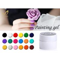 Quality Environmental Color Painting Gel / Soak Off Led UV Gel Nail Polish for sale