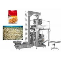 Quality 14 Heads Multihead Weigher Packing Machine 220V / 380V Input Voltage for sale