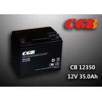 Quality Sealed AGM Lead Acid Battery 12V 35AH CB12350 Solar Wind Elcectricity Supply for sale