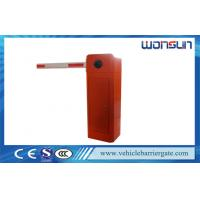 China Automatic And Electronic Drop Arm Barrier For Highway Or Toll Gate System on sale