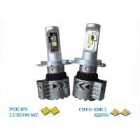 Quality Plug And Play Bright LED Headlight Bulbs 40W  H4 High Low Beam  6500K for sale