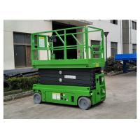 Quality Warehouse / Granary Self Propelled Elevating Work Platforms Without Outriggers for sale