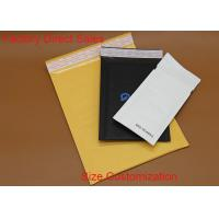 Quality Cushioned Postage Kraft Paper Bubble Mailers 6*8 Inch Waterproof Shock Resistant for sale