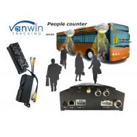 Quality Accuracy live video streaming 4 Channel Mobile DVR gps tracking by google map for sale