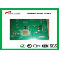 Quality 1.2mm Hole Size 0.2mm Quick Turn PCB Prototypes Assembly 6 Layer Hard Gold PCB for sale