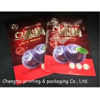 Quality Three Layers Dried Fruit Packaging Bags Heat Seal Low Temperature Resistance for sale
