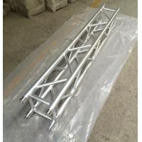 Quality 2 Meter 4 Sides Brace Tube 290 * 290mm Spigot Aluminum Stage Truss For Outdoor & Indoor for sale