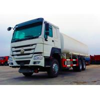 China Ten Wheels Petrol Tank Truck , 3 Axles 12.00R20 Tire Oil Delivery Truck on sale